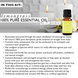 "7 Jardins ""Must-Haves"" Top 6 Essential Oils Aromatherapy Kit 100% Pure & Therapeutic Grade 10ml - Beginner Sampler Gift Set (Lavender French, Sweet Orange, Tea Tree, Eucalyptus, Peppermint & Lemongrass) - Mediderm - 15"