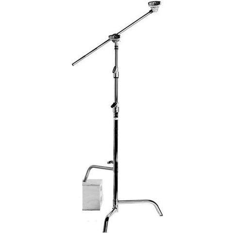 "Matthews 40"" Hollywood Pro Sliding Leg C-Stand with Grip Arm - Rental"