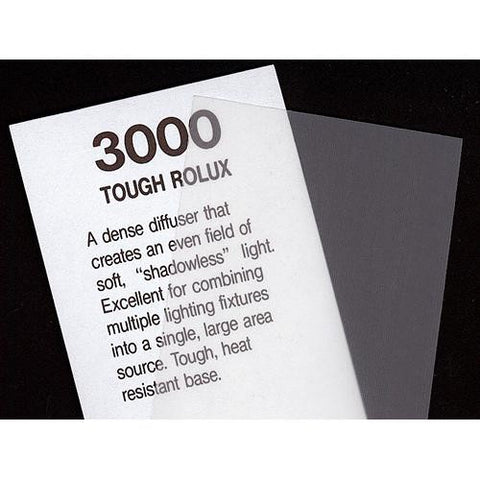 "Rosco Cinegel - Tough Rolux - 20x24"" Sheet #3000 Filter"