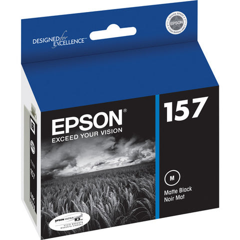 Epson 157 Matte Black Ink Cartridge T157820
