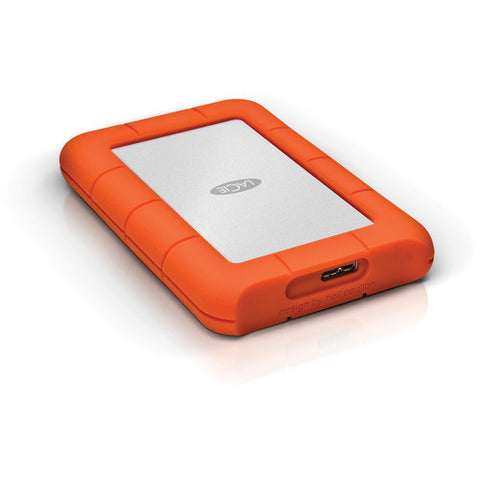 LaCie 4TB Rugged Mini USB 3.0 & USB - C External Hard Drive