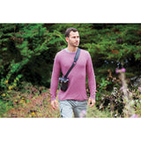 Joby UltraFit Sling Strap For Men (Charcoal, M to XL)