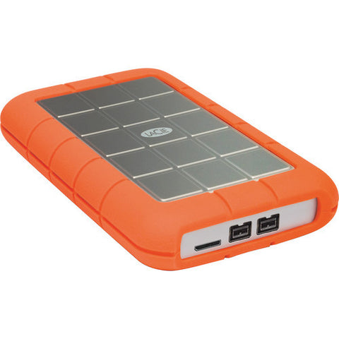 LaCie 500GB Rugged Triple USB 3.0 Portable Hard Drive