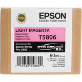 Epson UltraChrome K3 Light Magenta Ink Cartridge (80 ml) T5806