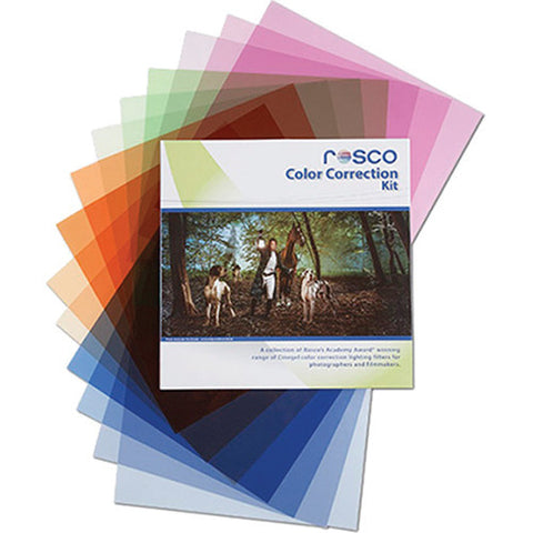 "Rosco Color Correction Filter Kit 12""x12"""