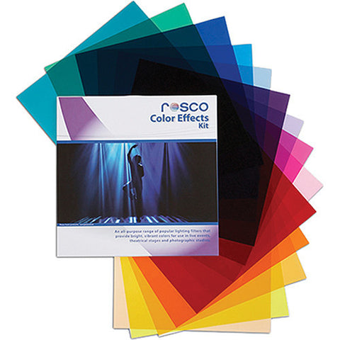 "Rosco Color Effects Filter Kit 12""x12"""