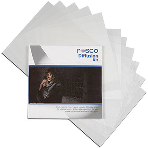 "Rosco Diffusion Kit, 12""x12"" Sheets"