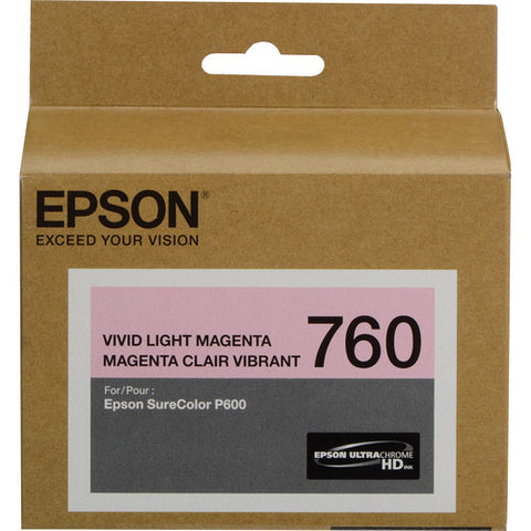 Epson T760 Vivid Light Magenta Ultrachrome HD Ink Cartridge T760620
