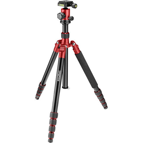Prima Photo Big Travel Tripod (Red)