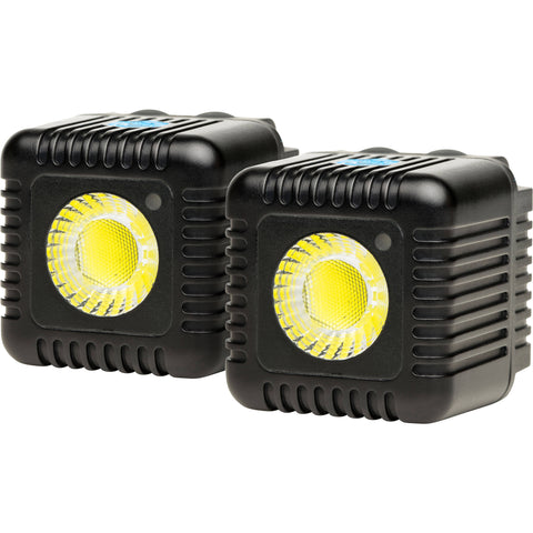 Lume Cube 1500 Lumen Bluetooth Flash & Video Light (Black, 2-Pack)