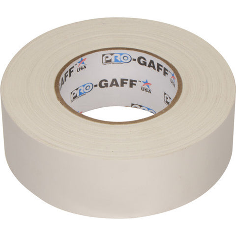 "Visual Departures 2"" Wide Gaffer Tape (55 yards, White)"
