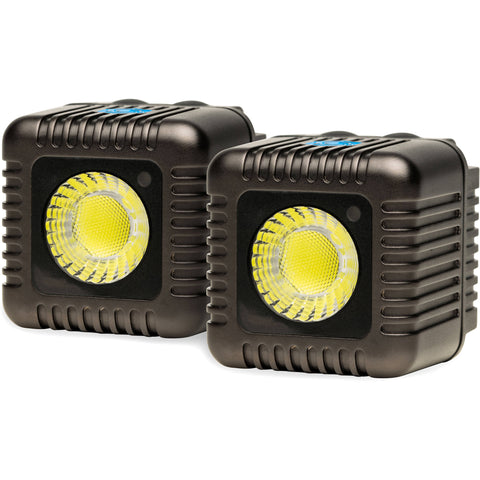Lume Cube 1500 Lumen Bluetooth Flash & Video Light (Gunmetal Gray, 2-Pack)