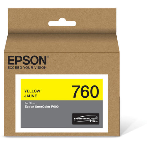 Epson T760 Yellow Ultrachrome HD Ink Cartridge T760420