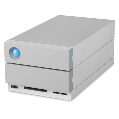 LaCie 12TB 2big Dock 2-Bay RAID Array Thunderbolt 3