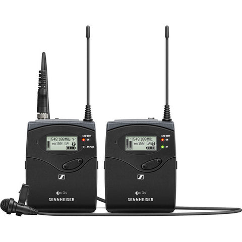 Sennheiser ew 112P G4 Wireless Microphone System with ME 2-II Lavalier Mic A: (516 to 558 MHz)
