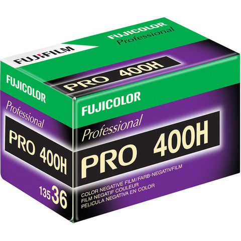 Fujifilm Fujicolor Pro 400H Color Negative Film ISO 400 35mm