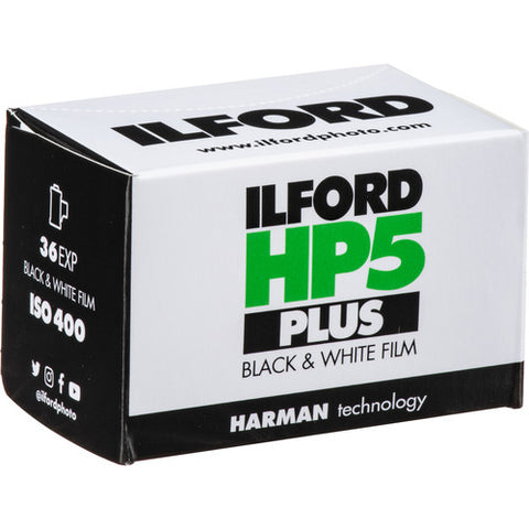Ilford HP-5 Plus 400 Fast Black and White Professional Film ISO 400 35mm