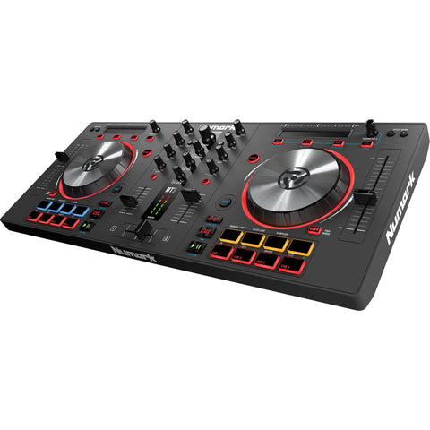 Numark Mixtrack 3 - DJ Controller for Virtual DJ + 4 Port USB Hub