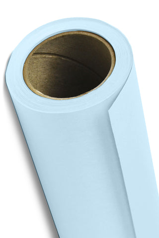 "Savage Widetone Seamless Background Paper - #41 Blue Mist, 53"" x 12yd"