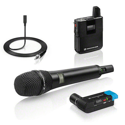 Sennheiser AVX Camera-Mountable Digital Wireless Handheld and Lavalier Set