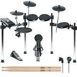 Alesis Nitro Drum Kit, 8-Piece Electronic Kit with Drum Module Bundle