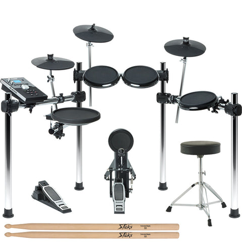 Alesis Forge 8-Piece Electronic Drum Kit with Module
