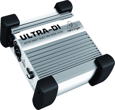 Behringer ULTRA-DI DI100 Active Direct Box with Groundlift Switch