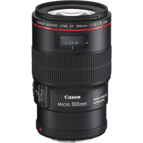Canon EF 100mm f/2.8L Macro IS USM Lens - 2965