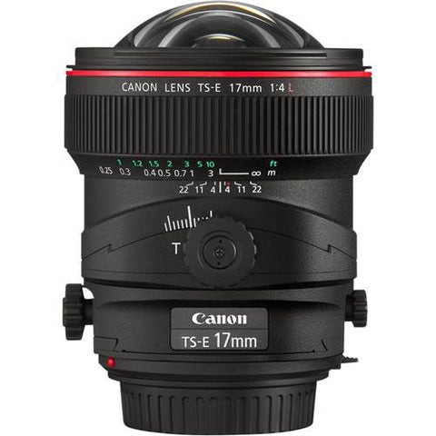 Canon TS-E 17mm f/4L Tilt-Shift Lens - 2874