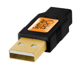 TetherPro USB 2.0 Male to Mini-B 5 pin, 6', Black