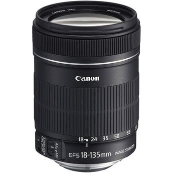 Canon EF-S 18-135mm f/3.5-5.6 IS Lens (White Box) - 2943