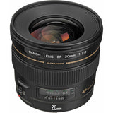 Canon Super Wide Angle EF 20mm f/2.8 USM Autofocus Lens - CAN202.8