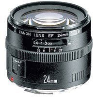 Canon Wide Angle EF 24mm f/2.8 Autofocus Lens - CAN242.8