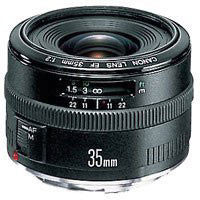 Canon Wide Angle EF 35mm f/2.0 Autofocus Lens - CAN352.0