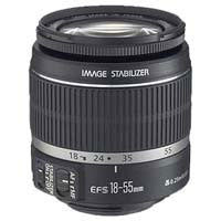 Canon Zoom Super Wide Angle EF-S 18-55mm f/3.5-5.6 IS Autofocus Lens f