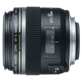 Canon Normal EF-S 60mm f/2.8 USM Macro Autofocus Lens for Select Digit