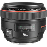 Canon Normal EF 50mm f/1.2L USM Autofocus Lens