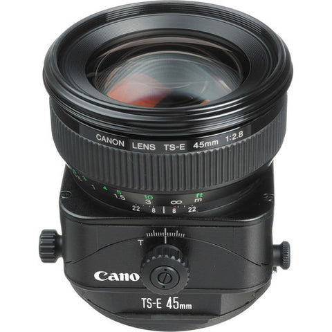 Canon TS-E 45mm f/2.8 Tilt-Shift Lens - 2440