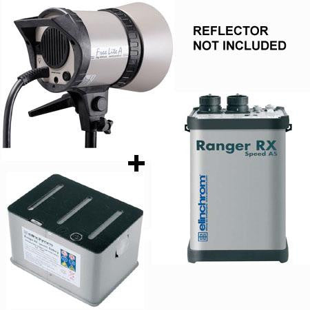 Elinchrom Ranger RX AS 1100W/s Kit with Ranger A Flash Head - 8813