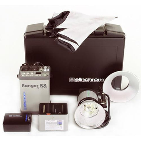 Elinchrom Ranger RX Speed AS 1100W/s Kit with S Head - 8875