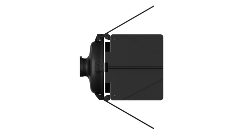 Aputure F10 Barndoors for LS 600d Fresnel