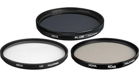 Hoya 55mm UV(C) Multi-Coated (HMC) - Circular Polarizer - NDx8 (Neutra