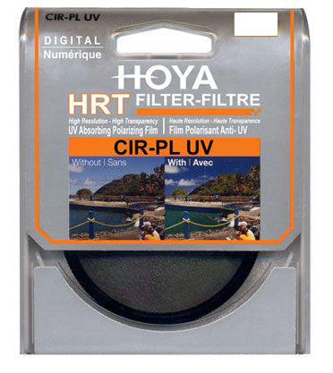 Hoya 62mm HRT Circular Polarizer UV Filter - 5623