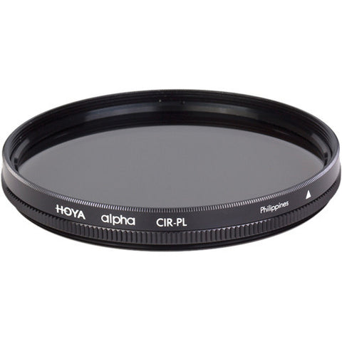 Hoya 62mm alpha Circular Polarizer Filter - 7462