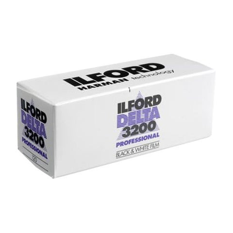 Ilford DELTA 3200 Professional, Black and White Print Film, 120mm