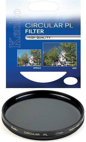 Kenko 72mm MC Circular Polarizer Lens Filter - 4954
