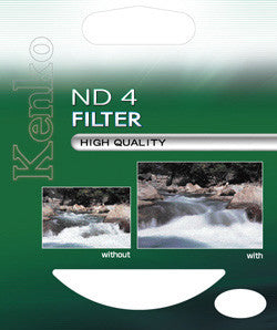 Kenko 62mm ND4 0.6 Standard Coated Neutral Density Filter - 4947