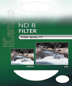 Kenko 72mm ND8 0.9 Standard Coated Neutral Density Filter - 4956