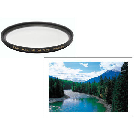 Kenko Zeta 77mm ZR SMC Ultra Thin L41 Super UV Filter - 5436