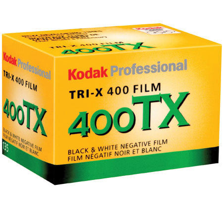 Kodak TX 135-36 Tri-X Pan Black  White Print Film (ISO-400) USA